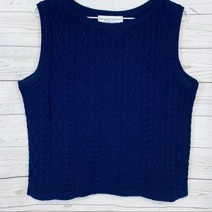 St. John Sport essentials Knit Sleeveless Tank L